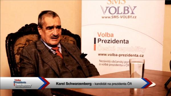 Předvolební vánoční video pozdrav Karla Schwarzenberga